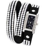 bpc bonprix collection Ovinovací hodinky s perličkami a štrasovými kamínky bonprix
