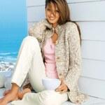 Blancheporte Propínací svetr, 100% akryl