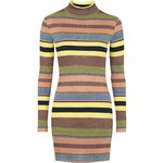 Topshop 70s Stripe Roll Neck Tunic