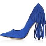 Topshop GERI Fringed Court Shoes