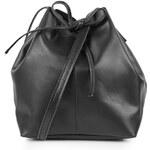 Topshop Leather Duffel Crossbody
