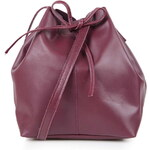 Topshop Leather DufflE Crossbody Bag