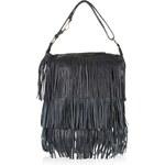 Topshop Leather Tassel Hobo Bag
