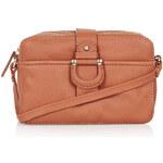 Topshop Leather '70s Brick Bag