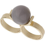 Topshop Dome Knuckleduster Ring