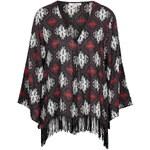 Topshop **Tassel Trim Kimono by Glamorous