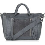Topshop Leather Holdall