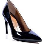 Clarette Dámská obuv na podpatku 919_black