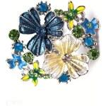 InObleceni Prsten s květy