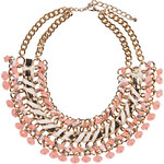 SWEET DELUXE Statement-Kette rosa