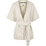 Topshop Premium Textured Rope Kimono