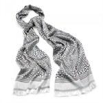 Dámský stříbrný šátek Vicky 29860