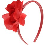 RFU Rose Alice Headband Red N