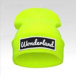 Wayfarer Čepice Beanie Wonderland s nášivkou žlutá