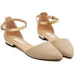 SHEIN Dámské sandále Chunky krémové Velikost: 39
