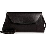 Valextra Leather La Scala Large Shoulder Bag