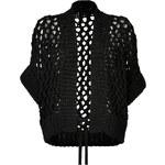 Maison Martin Margiela Cotton Blend Open Knit Cardigan