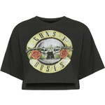 Topshop Guns And Roses Crop Top By And Finally