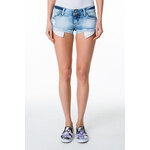 Tally Weijl Light Denim Short with Raw Hem