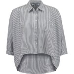 LTB TIWALA Bluse black/white