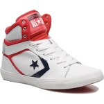 SALE -30% : Converse (Women) - All Star 12 Leather Mid W (White)