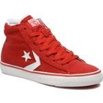 SALE -40% : Converse (Women) - Pro Leather Vulc Canvas Hi W (Red)