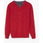 Mango Kids - Dětský svetr Adrian 104-164cm - červená