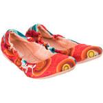 Desigual Dámské baleríny, 40BS014-3036_Rojo-multicolor
