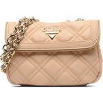 Guess (Bags) - Gold cage Leather S Flap (Pink)