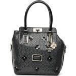 Guess (Bags) - Britton Turnlock satchel (Black)