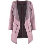 Dámský podzimní kabát Hailys fialkový