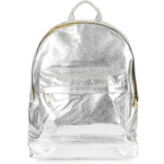 Topshop **Metallic Backpack by Mi-Pac