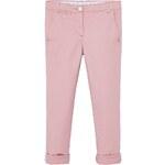 Mango Kids - Kalhoty pro děti Savan 104-164cm - pastelově růžová