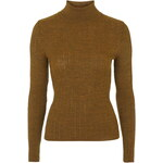 Topshop Mini Cable Knit Roll Neck Jumper