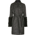 Topshop **Maida Tweed Trench Coat by Unique