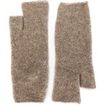 ISABEL BENENATO knitted fingerless gloves
