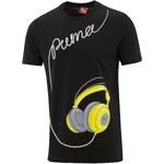 Puma M Music Tee černá 799 M
