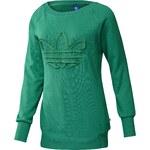 adidas EQ LOGO SWEATER zelená 32