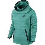 NIKE TECH FLEECE HOODY zelená S