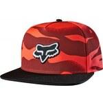 Dámská kšiltovka Fox Vicious Baseball acid red