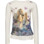 Tom Tailor mini girls - longsleeve with volant part