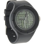 Reebok Warm Up Wallpaper Watch pánské Black N