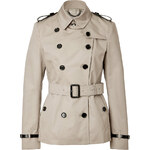 Burberry London Cotton Blend Trench Jacket