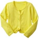 Gap Knit Cardigan - Aurora yellow