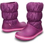 Crocs Dámské sněhule Winter Puff Boot Women Viola-Fuchsia 14614-500 38,5