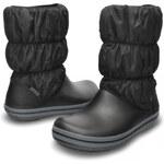 Crocs Dámské sněhule Winter Puff Boot Women Black-Charcoal 14614-070 37,5