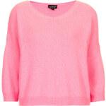 Topshop Super Fluffy V-neck Sweater