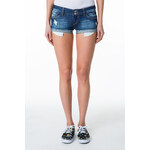 Tally Weijl Dark Denim Shorts with Raw Hem