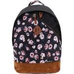 Hnědo-černý dámský batoh s potiskem růží Rip Curl Roses Dome