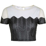 Topshop **It's Happening Crop Top by WYLDR